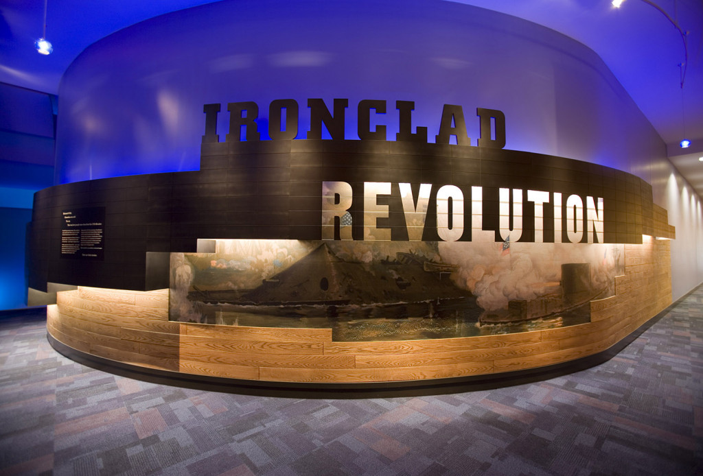 Ironclad Revolution exhibition entrance